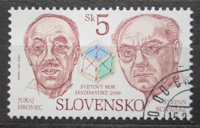 Slovensko 2000 Mezinárodní den matematiky Mi# 365 1539