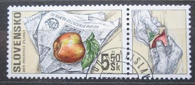 Slovensko 2000 Den poštovní známky Mi# 383 1540