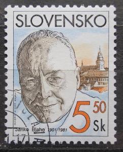 Slovensko 2001 Janko Blaho, operní zpěvák Mi# 386 1540
