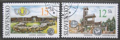 Slovensko 2001 Archeologické nálezy Mi# 391-92 1540