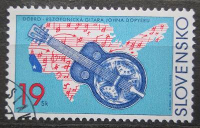 Slovensko 2001 Rezofonická kytara Mi# 403 1540