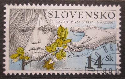 Slovensko 2001 Spravedlnost mezi národy Mi# 405 1540