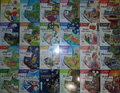 Albi knihy, nové, zabalené vše v češtině