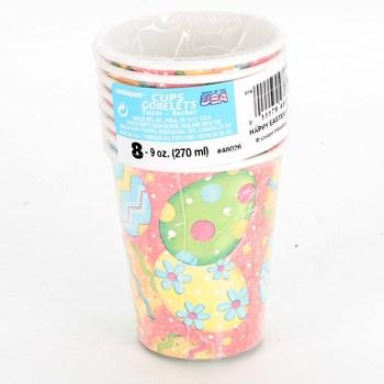 Papírové kelímky Unique pro děti