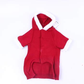 Vánoční obleček pro psa Pets červený