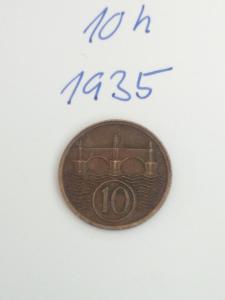 10h 1935 -10 haléřů