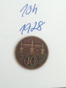 10h 1928 -10 haléřů