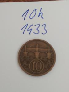 10h  1933 - 10 haléřů