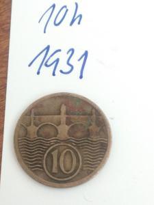 10h  1931 - 10 haléřů