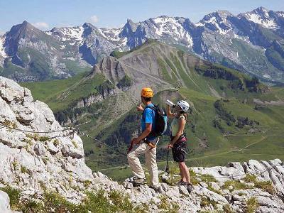 Francouzské Alpy - turistika nebo ferraty s CK Mundo
