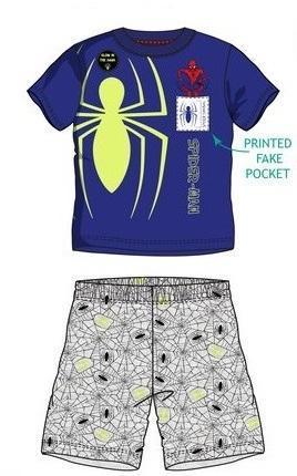 Svítící pyžamo Spiderman, vel.98