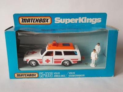 Matchbox Superkings K96 Volvo ambulance