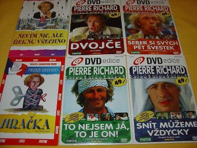 Pierre Richard - POZOR čtěte popis nabídky před nákupem!