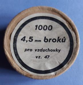 originál broky pro vzduchovku VZ.47