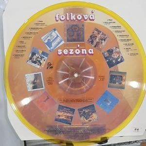 Various – Folková Sezóna picture disc L1 0027-1 3– NM
