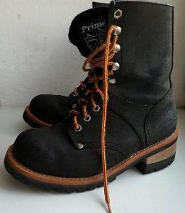 Kožené boty NEVADA vel. 37