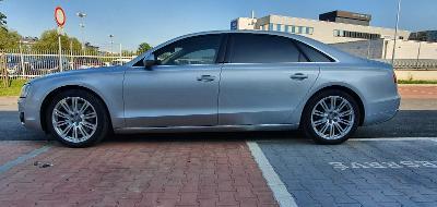 Audi A8 4.2 TDI, long, B&O, vzduch, dověry, masáž, 3xLCD, TV, semišDPH