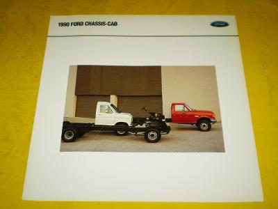 --- Ford Chassis-Cab (1990) -------------------------------------- USA