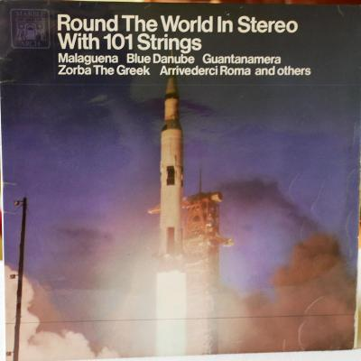 Round theWorld inStereo with 101 STRINGS Zorba t.Greek 1967 MarbleArch