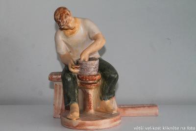 Hrnčíř / Czechoslowakische Keramik Prag