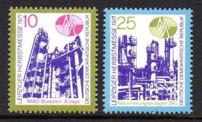 DDR 1971 Lipský veletrh Mi# 1700-01 1401