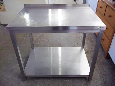 Stůl nerezový 70 x 100 x 88 cm