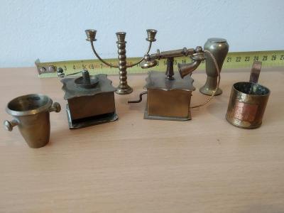 Mosazné Miniatury