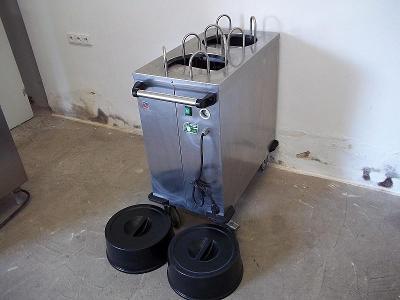 PROFI ohřívač talířů zásobník na talíře ABNER EPT 2/60