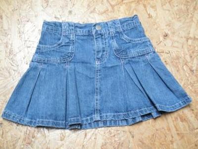 Riflová sukně, vel. 104