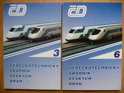Vědeckotechnické sborníky Českých drah - čísla 3. / 1997 a 6. / 1998
