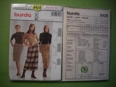 BURDA STRIH VZOR 8426