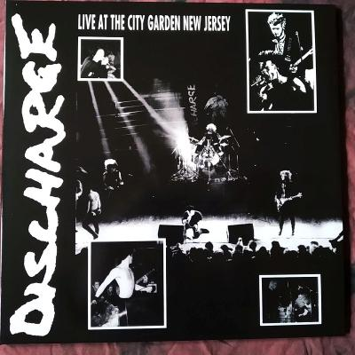 DISCHARGE -Live At The City Garden New Jersey LP