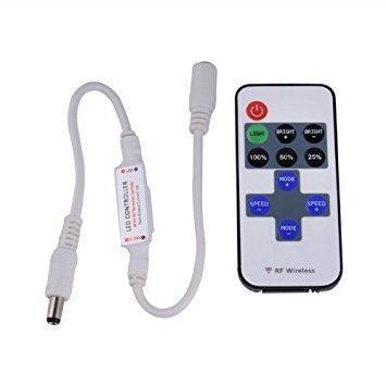 NOVÉ dálkové ovládání 5-24V ideální pro LED pásky