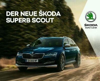 Škoda Superb Scout model 2020 prospekt 12 / 2019 AT