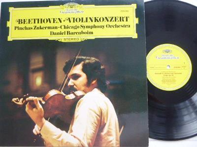 Beethoven Konzert fur Violine und Orch. / Chicago Barenboim Zukerman