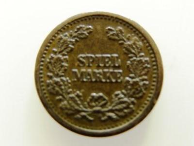 NĚMECKO - hrací žeton (spiel marke) 19. - 20. století, velmi zachovalý