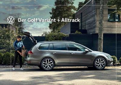 Volkswagen Vw Golf  Variant model 2020 prospekt 12 / 2019 AT
