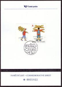 ČR - PLZ 16 - PAMĚTNÍ LIST ČP - REGIONÁLNÍ MOTIV (T1434)