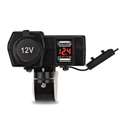 Multifunkční zásuvka 12V a USB pro motocykl