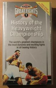 VHS Great Fights - History of the Heavyweight Championship, BOX fight