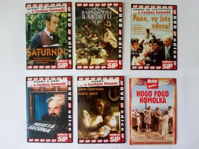 Česká klasika na DVD 6ks