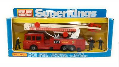 Matchbox Super Kings K-39,  SNORKEL FIRE ENGINE