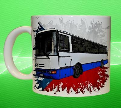 Hrnek hrneček autobus KAROSA