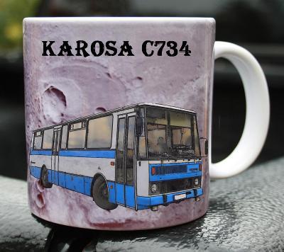 Hrnek hrneček autobus KAROSA C734