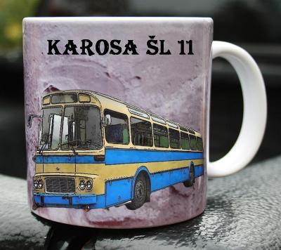 Hrnek hrneček autobus KAROSA ŠL 11