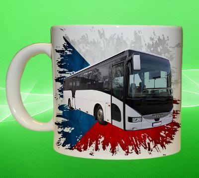 Hrnek hrneček autobus IVECO ARWAY  vlajka