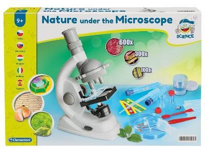 Experimentální sada Clementoni příroda pod mikroskopem