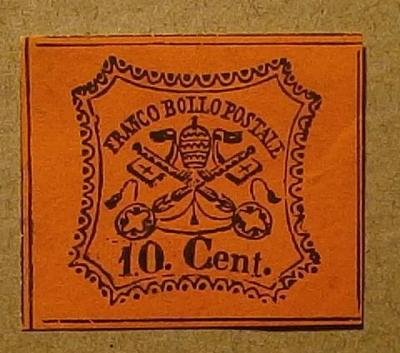 1867 Itálie Kirchenstaat Mi 15 /*