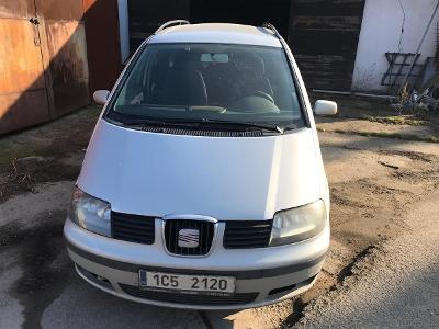 Osobní automobil zn. Seat Alhambra, 1.9, 85 kW,  r.v. 2002