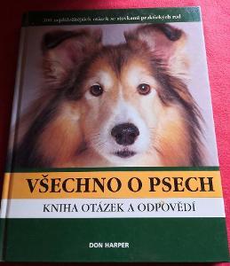 Kniha - Všechno o psech/Don Harper 1999-159 str....(10321)